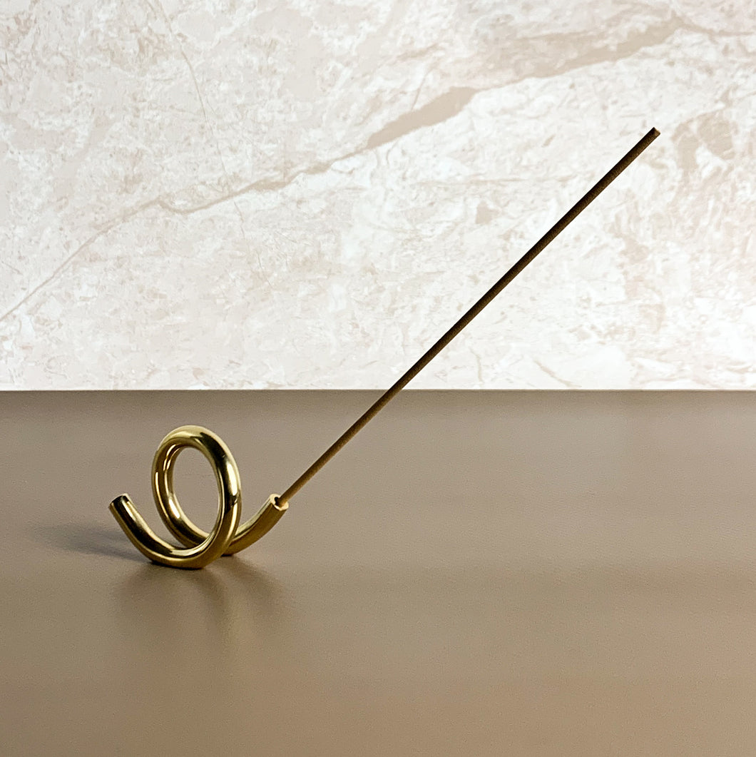 Brass Incense Holder (ii) by Subtle Bodies