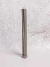 Load image into Gallery viewer, Column Pillar Candle by Black Blaze - Beige