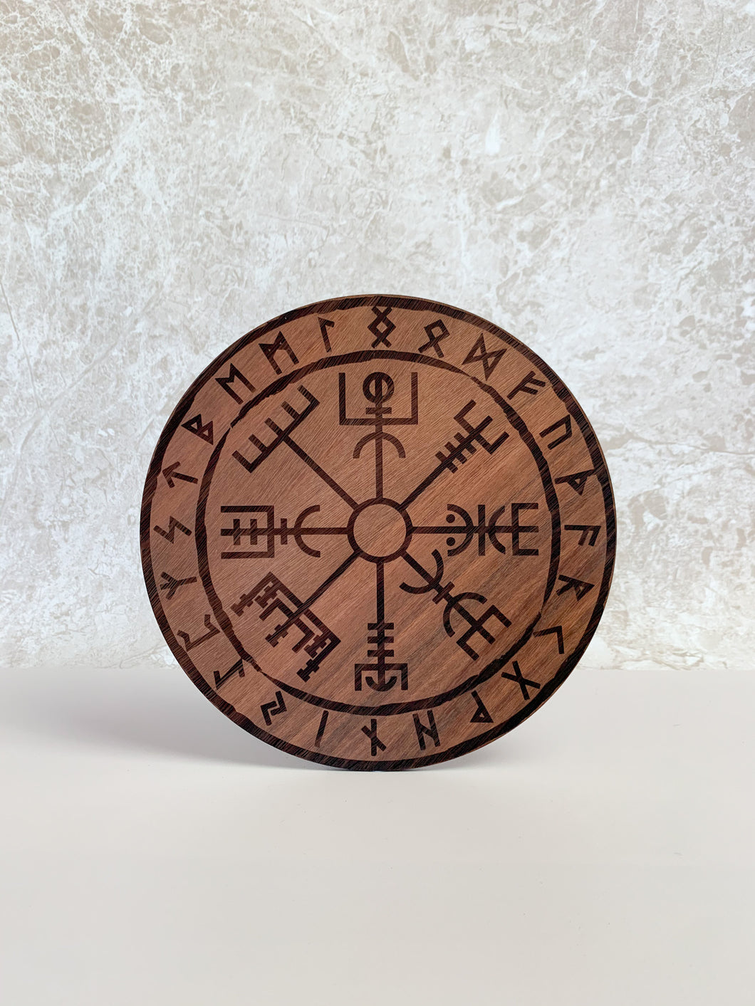 Vegvisir 'Viking Compass' By Yiska Designs - Jarrah