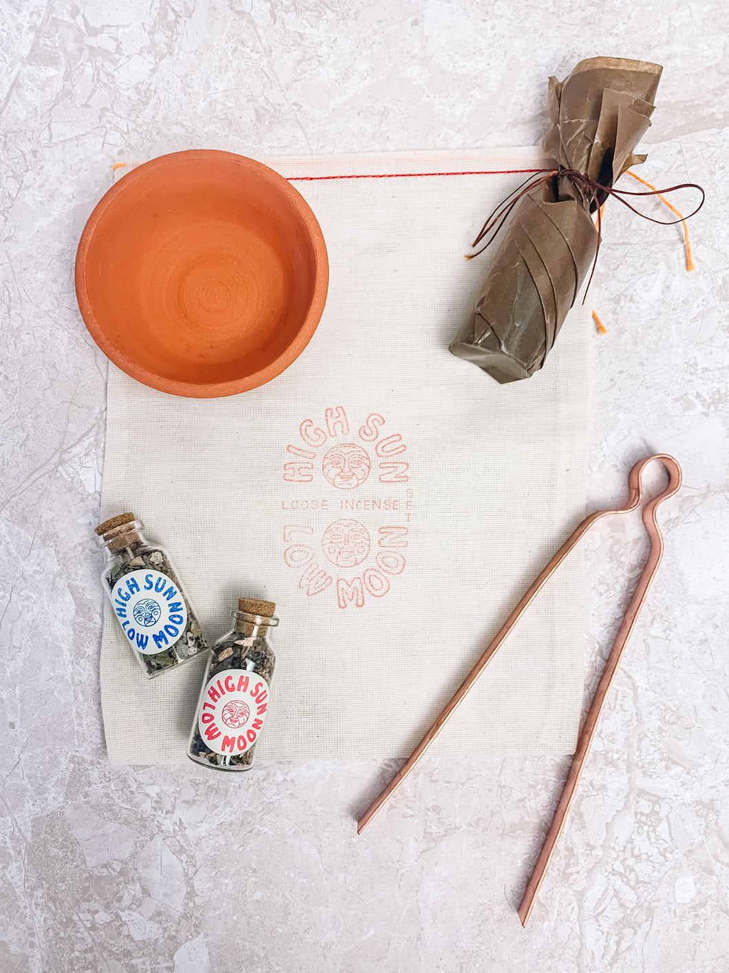 Incense Set By High Sun Low Moon