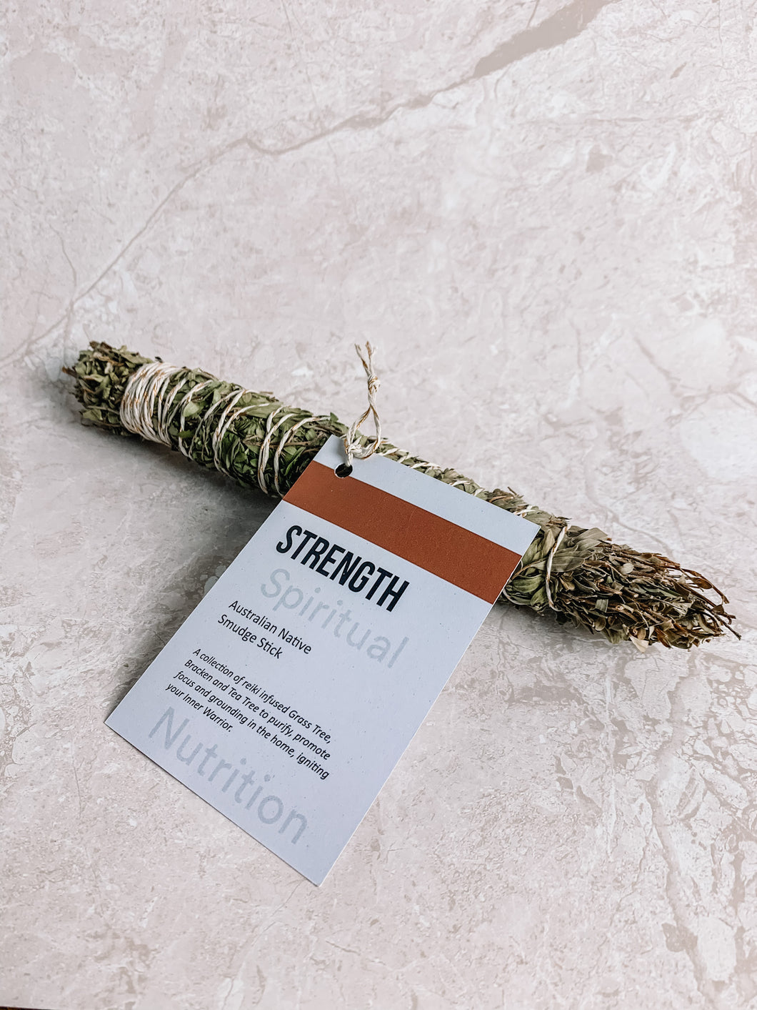 Australian Native Smudge Stick - Strength  By Spiritual Nutrition