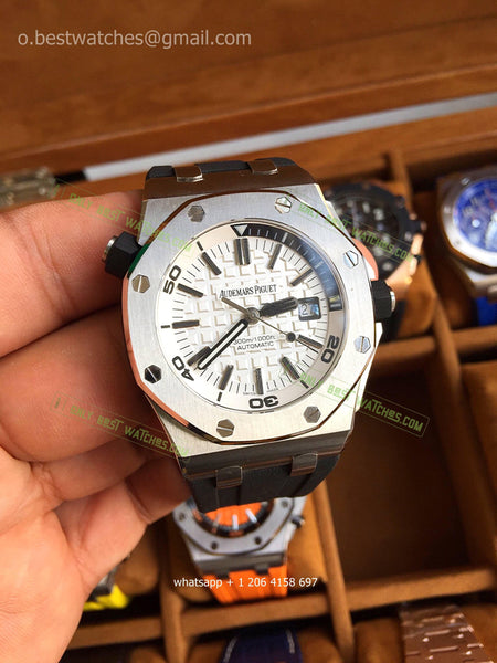 Royal Oak Offshore Diver White Dial 1:1 Super Clone - only best watches