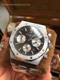 AP Royal Oak Chrono 26320ST  Black Dial Super Cone - only best watches