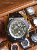 Audermars Piguet Real Ceramic Updated Bezel  1:1 Best Edition Black Dial - only best watches