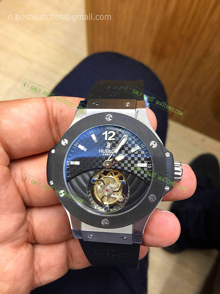 Hublot  Ceramic Bezel Tourbillon Best Edition 1/1 - only best watches
