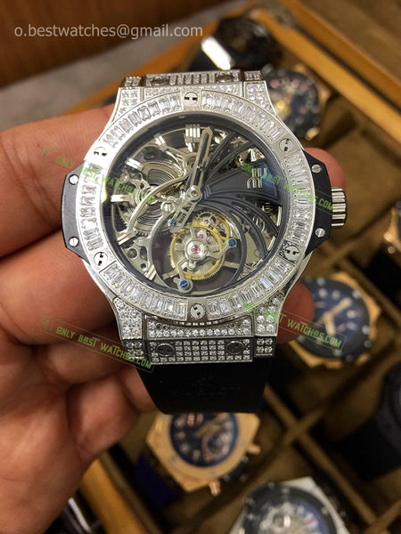 Hublot Big Bang Diamonds Bezel Tourbillon Best Edition 1/1 - only best watches