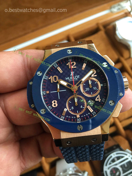 Hublot Big Bang RG Case Ceramic Bezel 44mm Chrono Best Edition - only best watches
