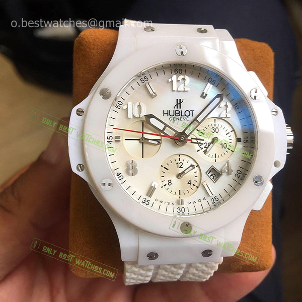 Hublot Big Bang  Chrono Full Ceramic Bezel Best Edition - only best watches