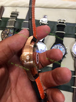 İWC Big Pilot Real PR Le Petit Prince  on Brown Leather Bracelet  Super Clone - only best watches
