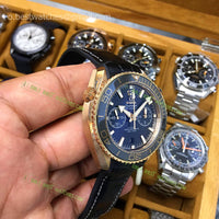 Seamaster Planet Ocean Rosegold SS Black Ceramic Bezel Black Dial  Super Clone - only best watches