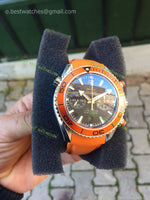 Seamaster CO-AXIAL Chronograph Orange  Super Clone replica - only best watches