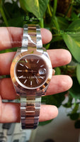 DateJust 41 Brown Dial on Oyster  Bracelet best edition 1/1 ARF - only best watches