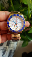 Yacht Master II 116680  Blue Ceramic  1:1 Best Edition on SS Bracelet - only best watches