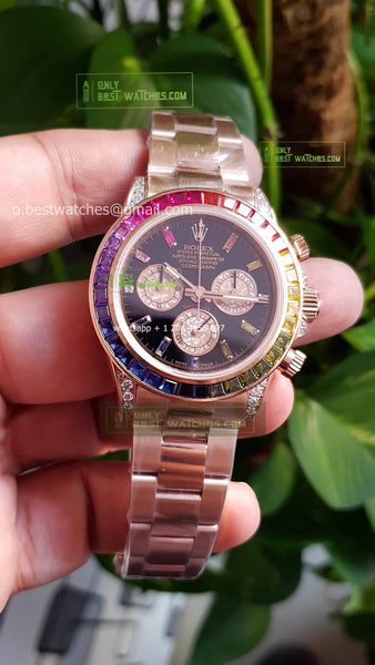 Daytona Rainbow RG  best edition Super clone 1/1 Best Editon - only best watches