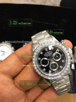 Daytona   Black Dial Diamonds Bezel best edition 1/1 - only best watches