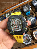 RM011-03 Chrono  Skeleton Dial Rubber Strap Super Clone 1/1 - only best watches