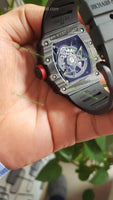 RM5301 1:1 Best Edition Skeleton Dial Rubber Strap Super Clone - only best watches