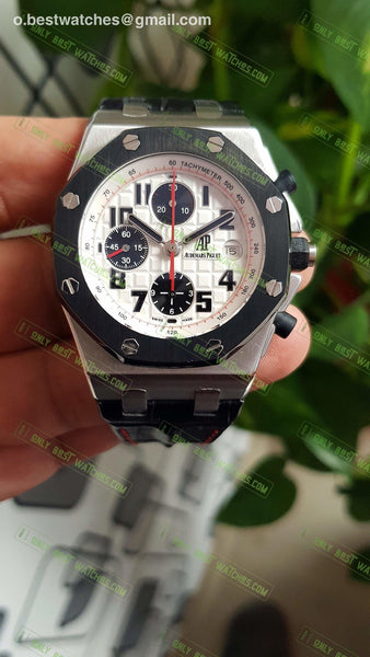 Audermars Piguet Royal Oak Offshore Panda White Dial 1:1 Best Editon Watches