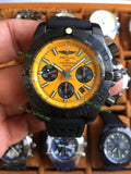 Breitling SteelFish Chronograph  Orange Dial Best Editon - only best watches