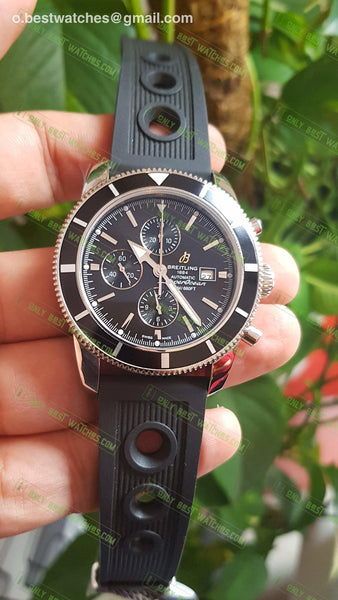 Breitling Superocean Heritage Automatich Chrono Black Dial Watches