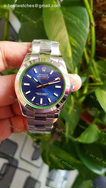 Milgauss 116400 Blue Dial Stainless Stell Best Edition 1/1 Watches