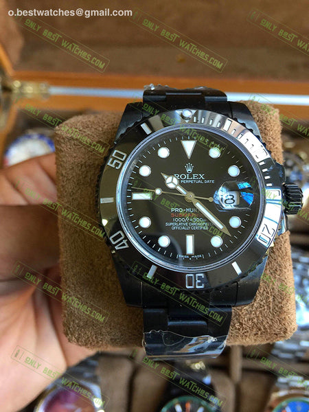 Pro Hunter Deepsea Single Red 116660 Pvd Best Edition1/1 Super Clone Watches