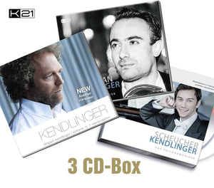 3 CD-Box + 1 DVD | KENDLINGER | STEPANIAN | SCHEUCHER