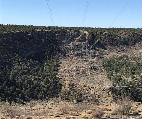 Steep terrain presents significant access challenges for utilities needing to maintain transmission lines