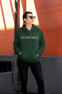 Amrak Women's Printed Hoodie - Invincible