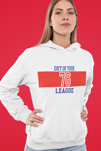 Amrak Women's Printed Hoodie - Out Of Your League