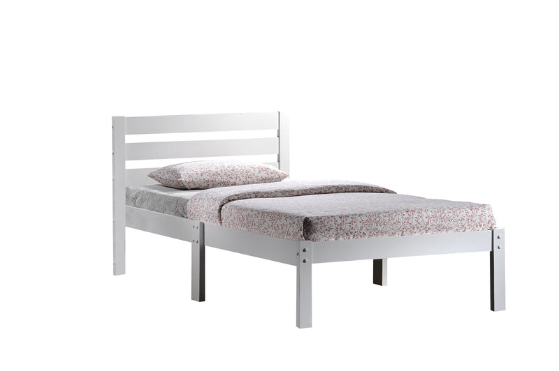 Donato White Twin Bed image