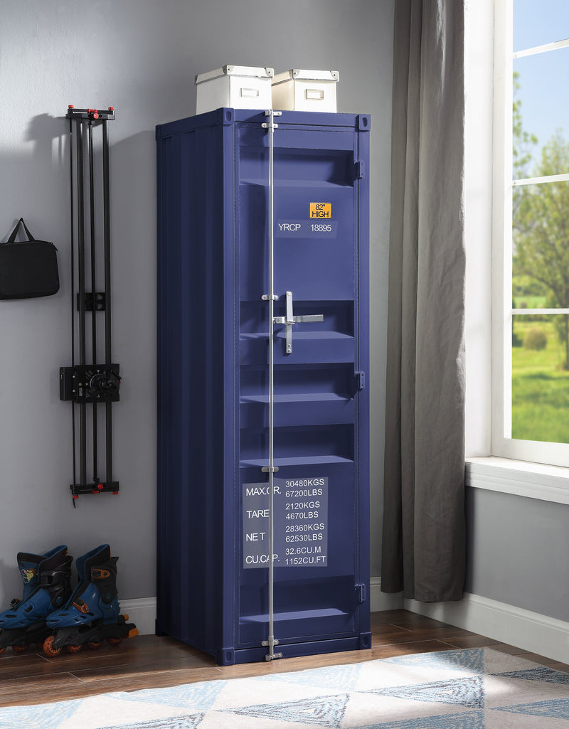 Cargo Blue Wardrobe (Single Door) image