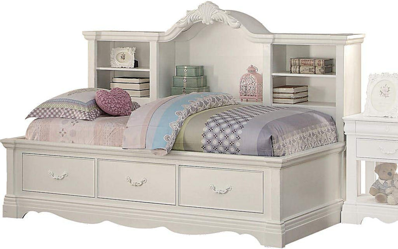 Acme Estrella Youth Daybed w/Storage in White 39150 image