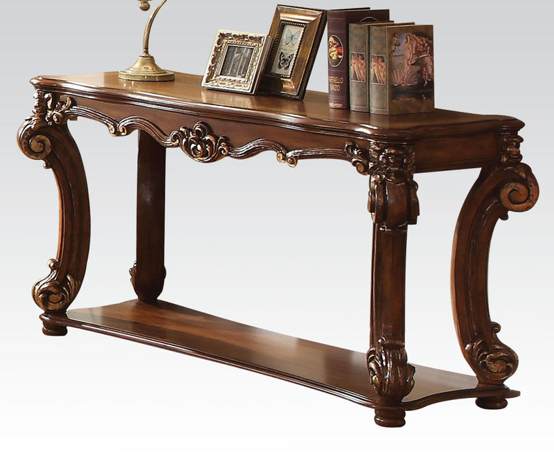 Acme Vendome Sofa Table in Cherry 82004 image