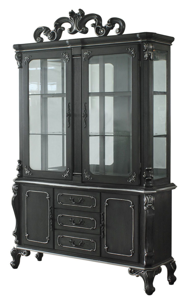 Acme Furniture Hutch and Buffet in Charcoal 68834 image