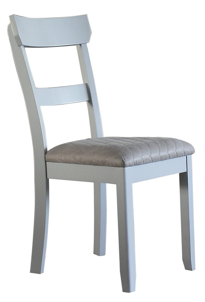 Acme Furniture House Marchese Side Chair in Pearl Gray (Set of 2) 68862 image