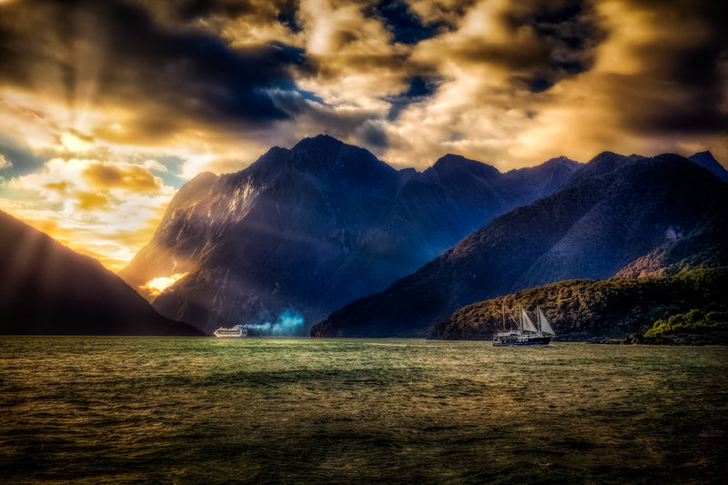 Milford Sound 'Giant Lands'