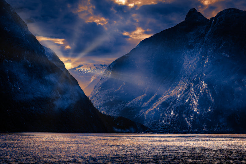 Milford Sound 'Blue Hour'