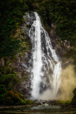 Milford Sound 'Stirling Falls Aurora'