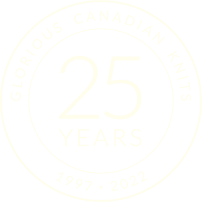 Glorious Canadian Knits. 25 Years: 1997-2022