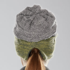Rosseau Two-Tone Toque back