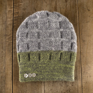 Rosseau Two-Tone Toque in citrus storm to storm