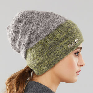 Rosseau Two-Tone Toque side