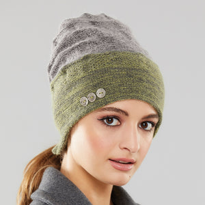 Rosseau Two-Tone Toque front