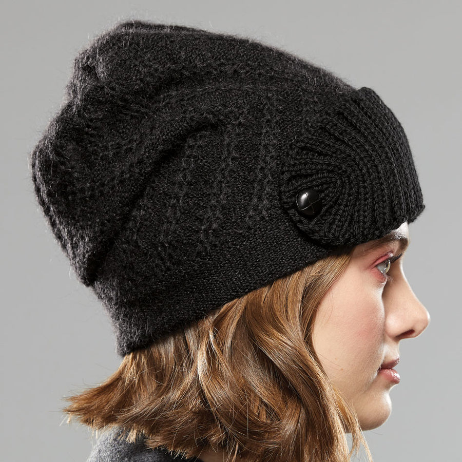 Zigzag Shield Hat