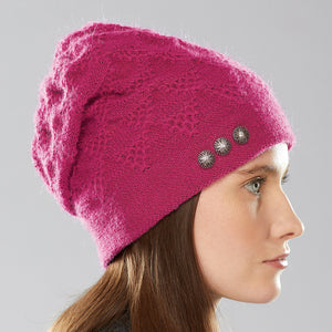 Alexsis Sparkle Hat side