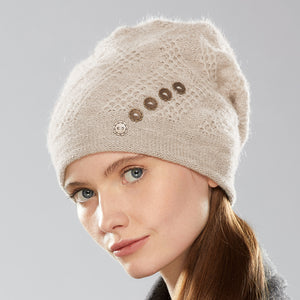 Mercury Cogwheel Hat in linen
