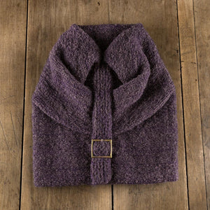 Batteaux Toque in eggplant