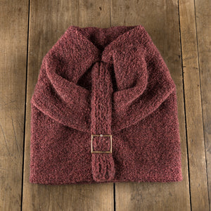 Batteaux Buckle Toque in russet