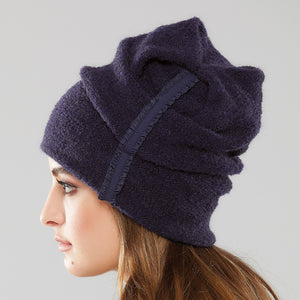 Batteaux Ruffle Toque side